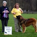 Reserve Winner's Dog, March 13, 2010