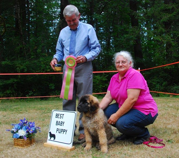 Enumclaw Dog Show  Results
